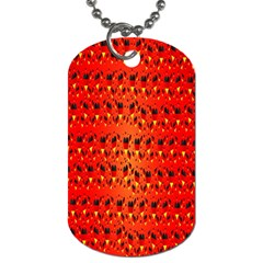 Texture Banner Hearts Flag Germany Dog Tag (one Side)