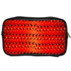 Texture Banner Hearts Flag Germany Toiletries Bags