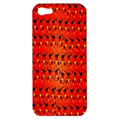 Texture Banner Hearts Flag Germany Apple Iphone 5 Hardshell Case