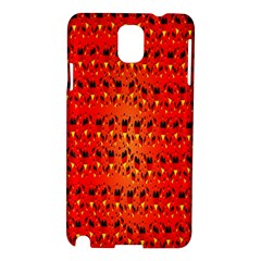Texture Banner Hearts Flag Germany Samsung Galaxy Note 3 N9005 Hardshell Case