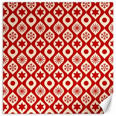 Ornate Christmas Decor Pattern Canvas 12  X 12