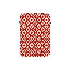 Ornate Christmas Decor Pattern Apple Ipad Mini Protective Soft Cases