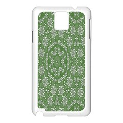 Art Pattern Design Holiday Color Samsung Galaxy Note 3 N9005 Case (white)