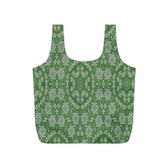 Art Pattern Design Holiday Color Full Print Recycle Bags (s)
