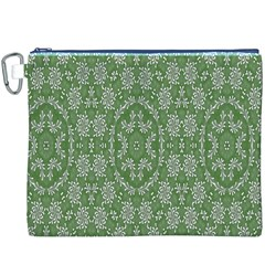 Art Pattern Design Holiday Color Canvas Cosmetic Bag (xxxl)