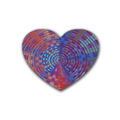 Gateway To The Light 5 Rubber Coaster (heart)
