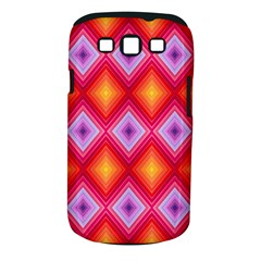 Texture Surface Orange Pink Samsung Galaxy S Iii Classic Hardshell Case (pc+silicone)
