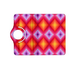 Texture Surface Orange Pink Kindle Fire Hd (2013) Flip 360 Case