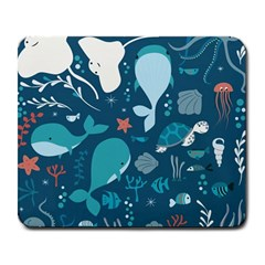 Cool Sea Life Pattern Large Mousepads