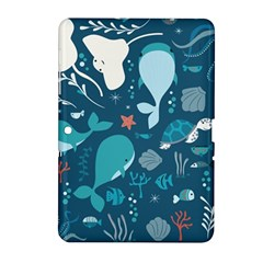 Cool Sea Life Pattern Samsung Galaxy Tab 2 (10 1 ) P5100 Hardshell Case