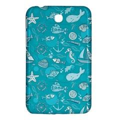Fun Everyday Sea Life Samsung Galaxy Tab 3 (7 ) P3200 Hardshell Case