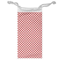 Sexy Red And White Polka Dot Jewelry Bag