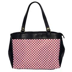 Sexy Red And White Polka Dot Office Handbags