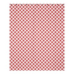 Sexy Red And White Polka Dot Shower Curtain 60  X 72  (medium)