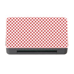 Sexy Red And White Polka Dot Memory Card Reader With Cf