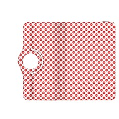 Sexy Red And White Polka Dot Kindle Fire Hdx 8 9  Flip 360 Case