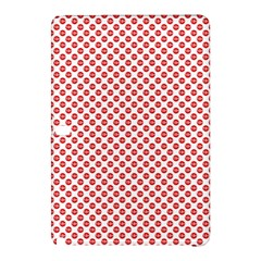 Sexy Red And White Polka Dot Samsung Galaxy Tab Pro 10 1 Hardshell Case