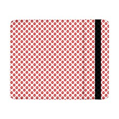 Sexy Red And White Polka Dot Samsung Galaxy Tab Pro 8 4  Flip Case