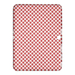 Sexy Red And White Polka Dot Samsung Galaxy Tab 4 (10 1 ) Hardshell Case