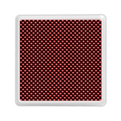 Sexy Red And Black Polka Dot Memory Card Reader (square)