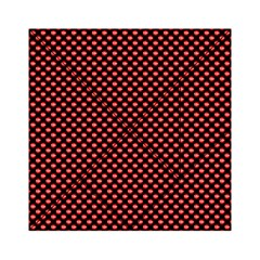Sexy Red And Black Polka Dot Acrylic Tangram Puzzle (6  X 6 )