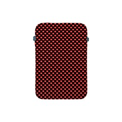 Sexy Red And Black Polka Dot Apple Ipad Mini Protective Soft Cases