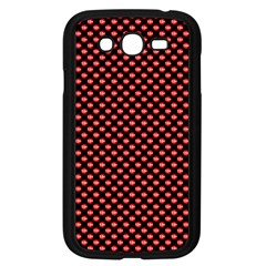 Sexy Red And Black Polka Dot Samsung Galaxy Grand Duos I9082 Case (black)