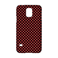 Sexy Red And Black Polka Dot Samsung Galaxy S5 Hardshell Case
