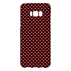 Sexy Red And Black Polka Dot Samsung Galaxy S8 Plus Hardshell Case