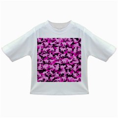 Hot Pink Catmouflage Camouflage Infant/toddler T Shirts