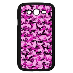 Hot Pink Catmouflage Camouflage Samsung Galaxy Grand Duos I9082 Case (black)