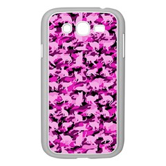 Hot Pink Catmouflage Camouflage Samsung Galaxy Grand Duos I9082 Case (white)