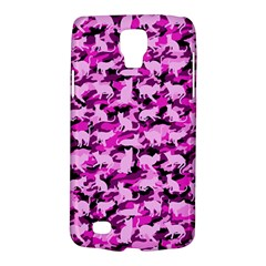 Hot Pink Catmouflage Camouflage Galaxy S4 Active