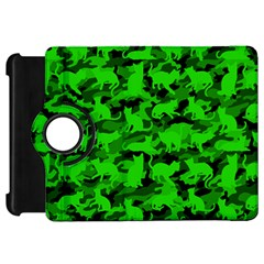 Bright Neon Green Catmouflage Kindle Fire Hd 7