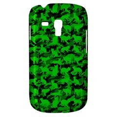 Bright Neon Green Catmouflage Galaxy S3 Mini