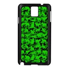 Bright Neon Green Catmouflage Samsung Galaxy Note 3 N9005 Case (black)