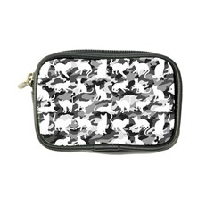 Black And White Catmouflage Camouflage Coin Purse
