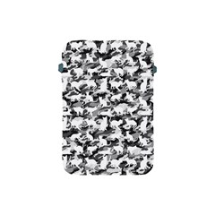 Black And White Catmouflage Camouflage Apple Ipad Mini Protective Soft Cases