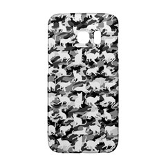 Black And White Catmouflage Camouflage Galaxy S6 Edge