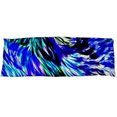 Abstract Background Blue White Body Pillow Case (dakimakura)