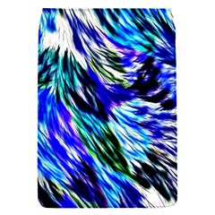 Abstract Background Blue White Flap Covers (s)