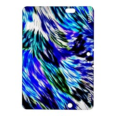 Abstract Background Blue White Kindle Fire Hdx 8 9  Hardshell Case