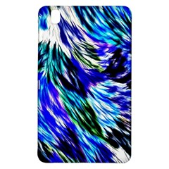 Abstract Background Blue White Samsung Galaxy Tab Pro 8 4 Hardshell Case