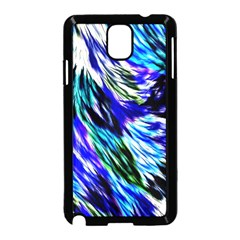 Abstract Background Blue White Samsung Galaxy Note 3 Neo Hardshell Case (black)
