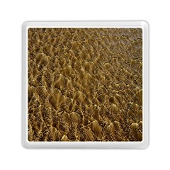 Water Mirror Background Pattern Memory Card Reader (square)