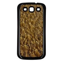 Water Mirror Background Pattern Samsung Galaxy S3 Back Case (black)