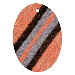 Fabric Textile Texture Surface Ornament (oval)