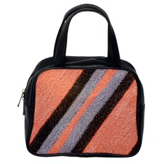 Fabric Textile Texture Surface Classic Handbags (one Side)
