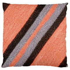 Fabric Textile Texture Surface Large Cushion Case (one Side)