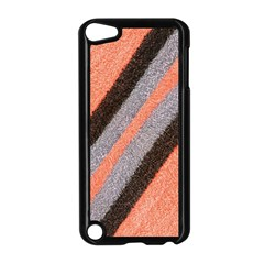 Fabric Textile Texture Surface Apple Ipod Touch 5 Case (black)
